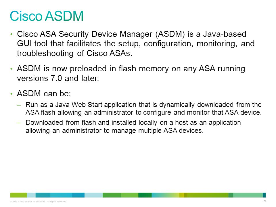 Implementing the Cisco Adaptive Security Appliance (ASA