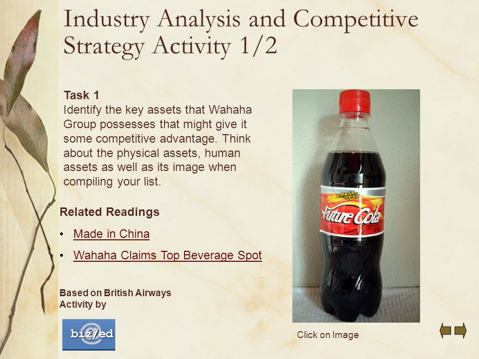 cola wars case study pdf