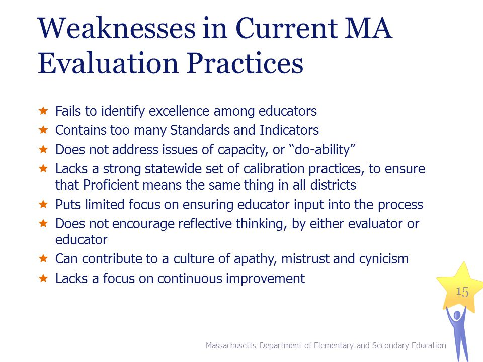 Weaknesses in Current MA Evaluation Practices
