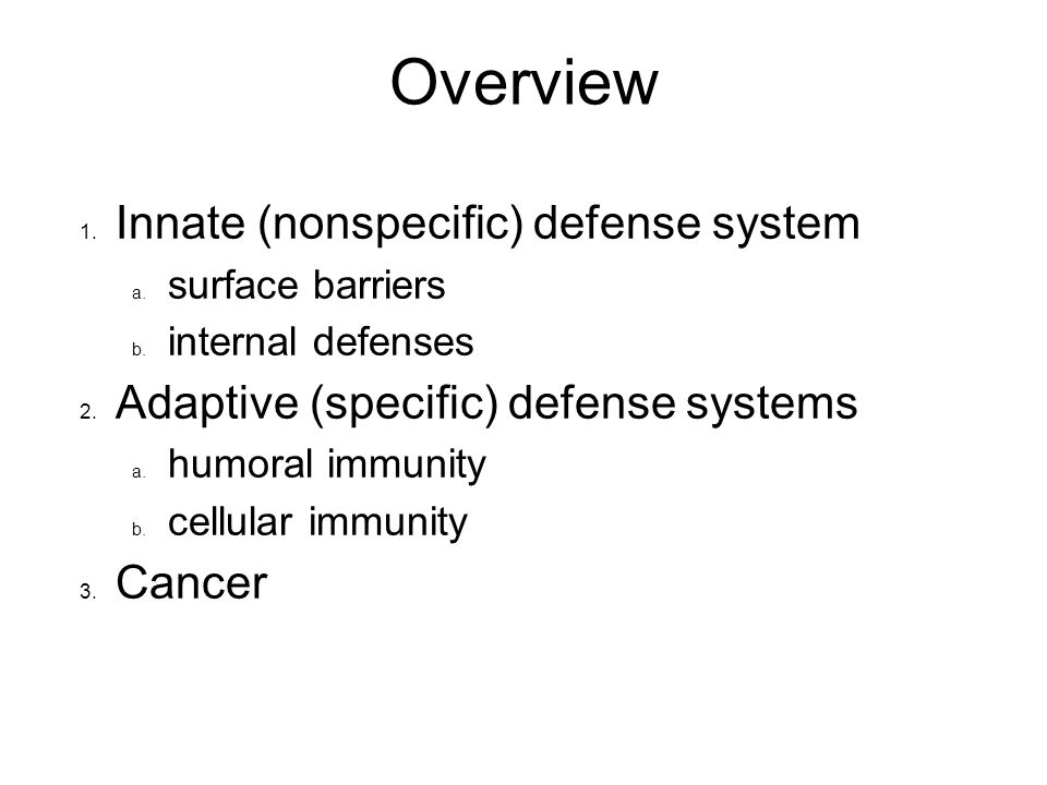 Immune System And Cancer Ppt Download
