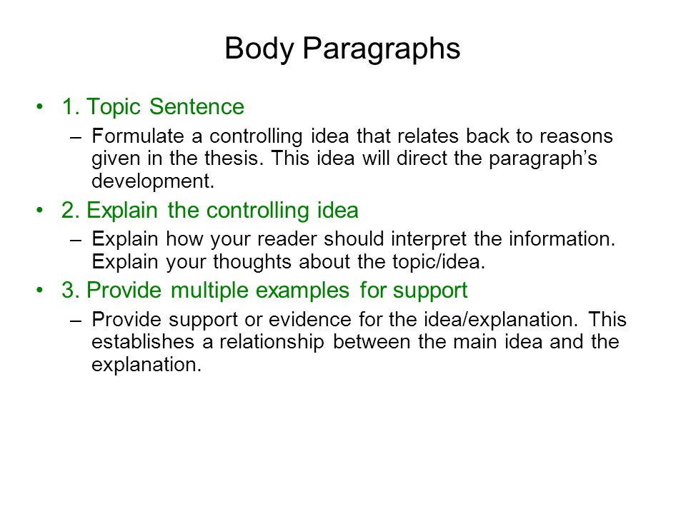 constructing a thesis sentence A good thesis derives from a significant, complex, and original question since the thesis is your conclusion to a scholarly argument, there must be a clear question at stake for you to answer.