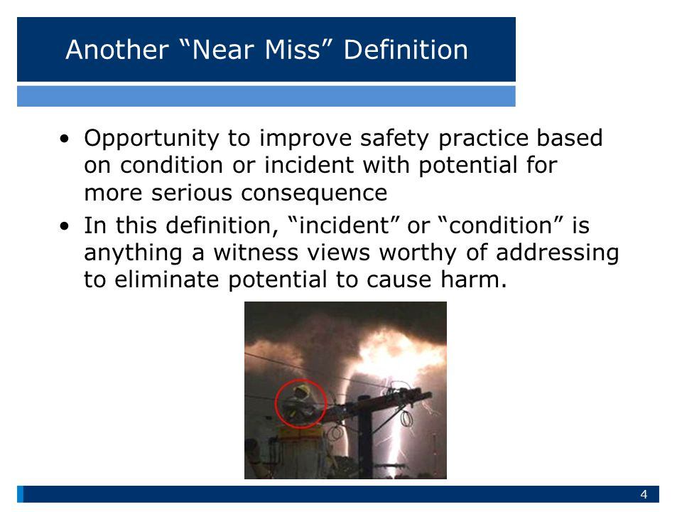 Another Near Miss Definition