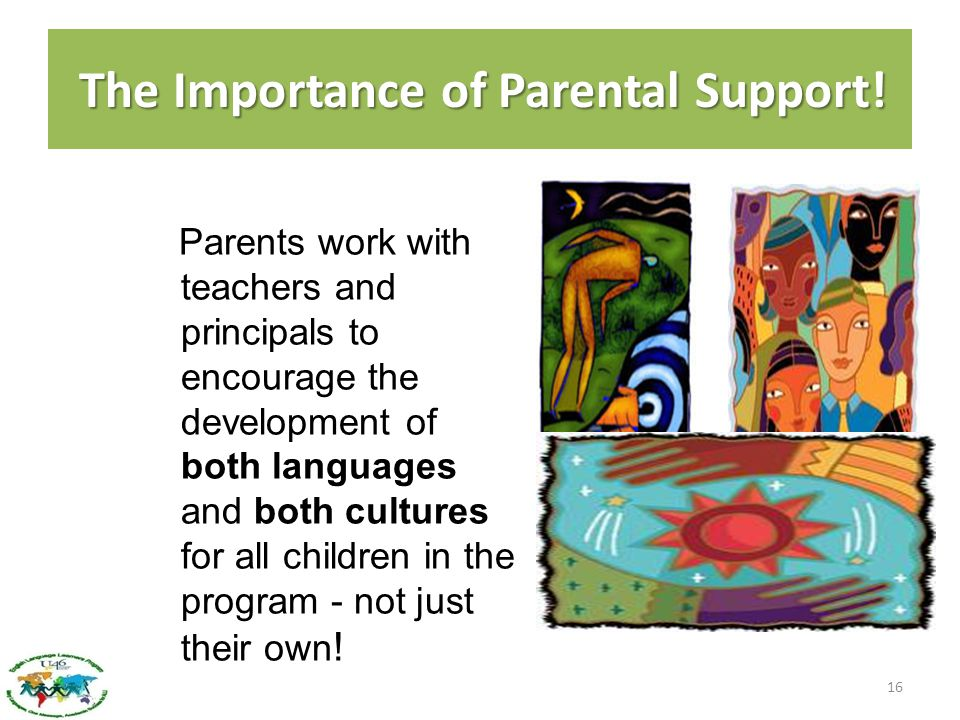 The Importance of Parental Support!