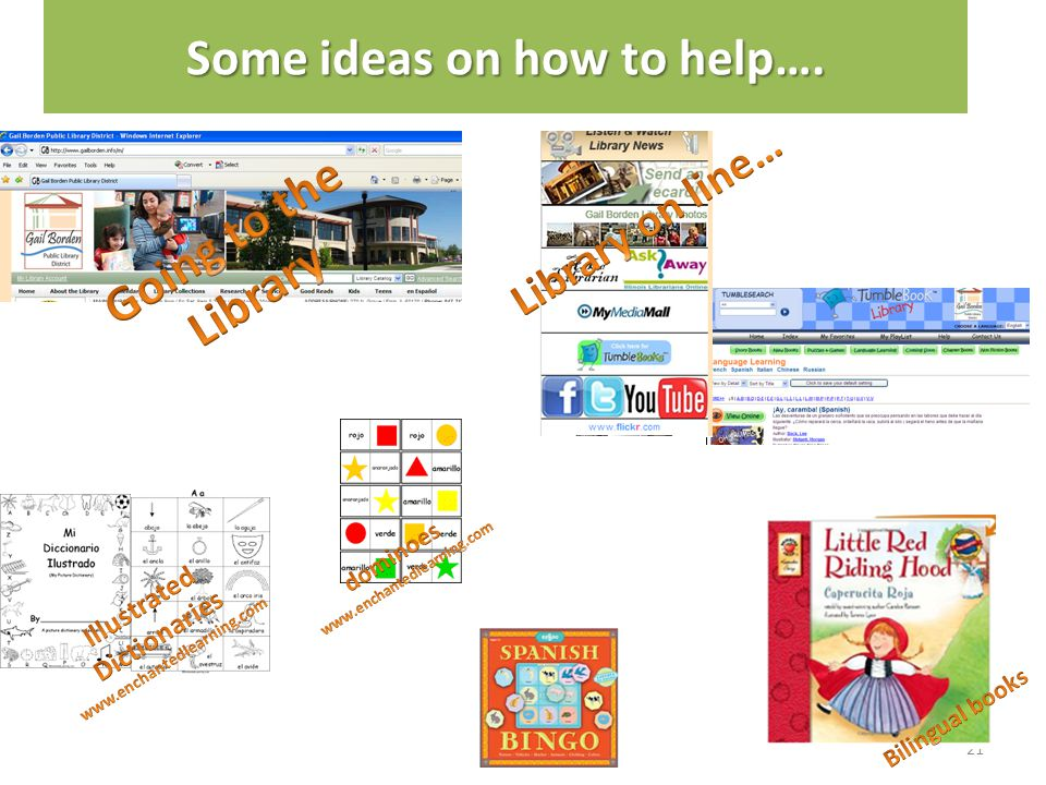 Some ideas on how to help….