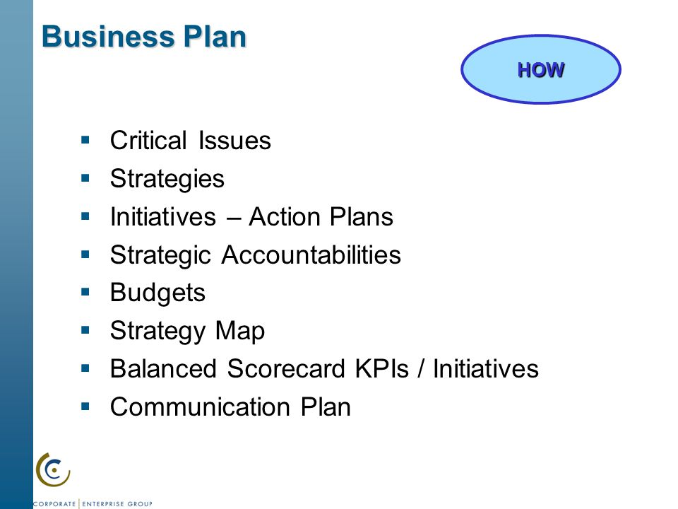 strategic initiative paper essay example Strategic initiatives are what a business uses to get from where it is to reach a goal it has set for example, a business decides it wants to make a what the business just implemented is a strategic initiative we will write a custom essay sample on any topic specifically for you for.