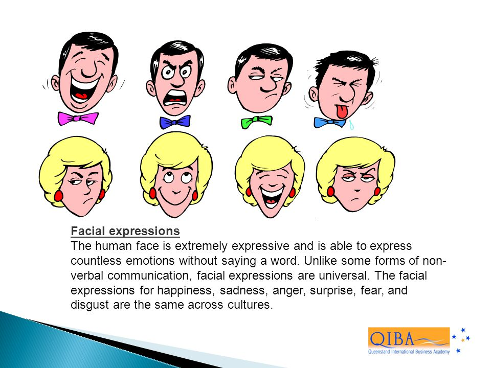 what are facial expressions in communication