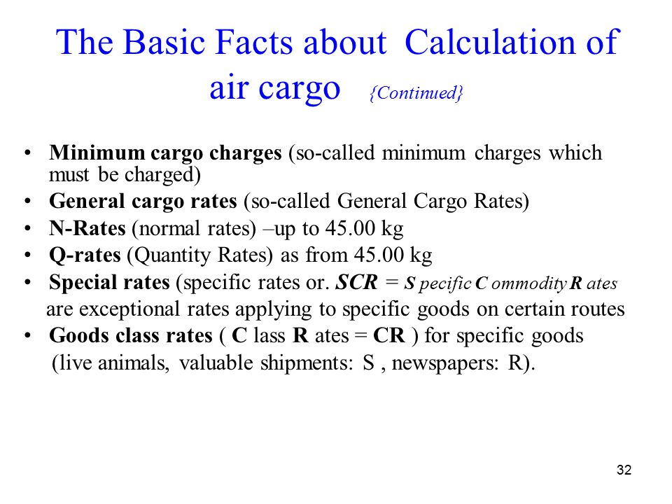 "AIR FREIGHT TRANSPORT MANAGEMENT ""Fresh produce"" - ppt download"
