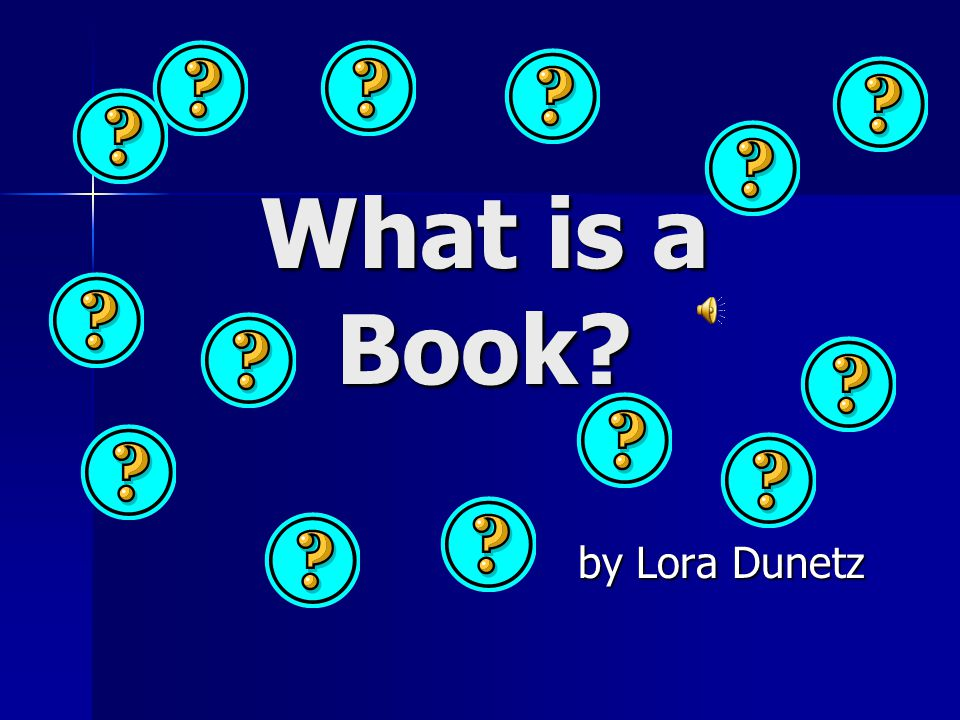 What is a Book by Lora Dunetz