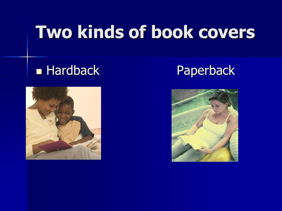 Two kinds of book covers