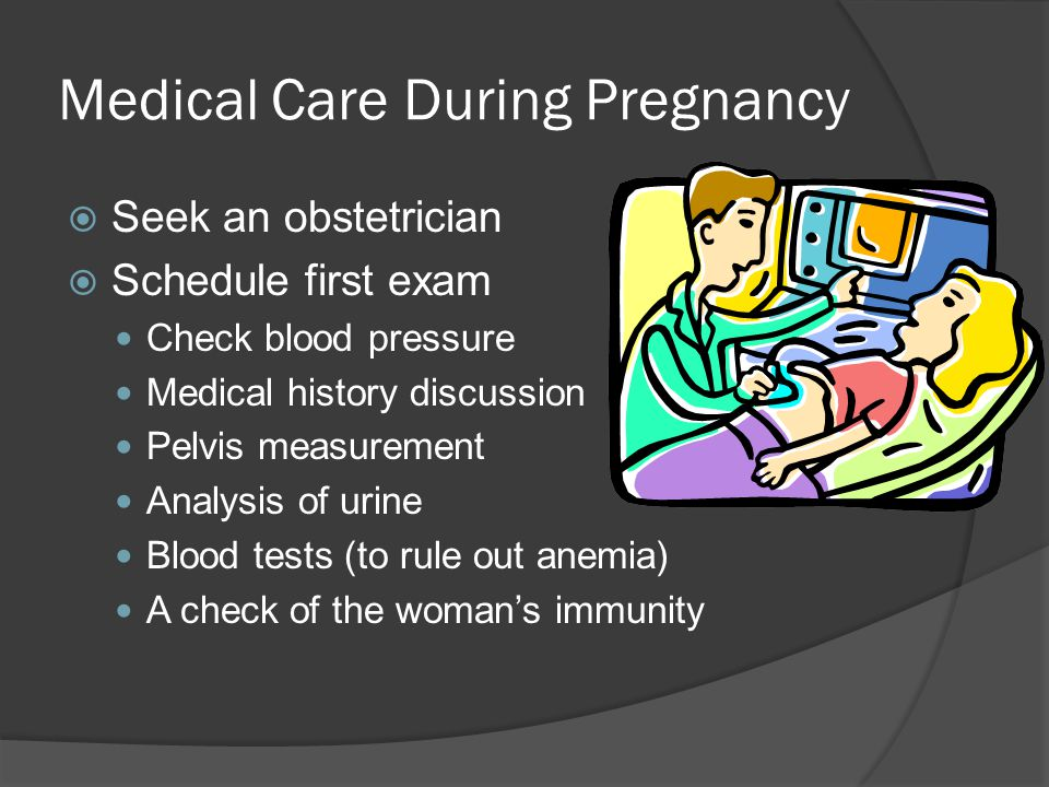 Medical Care During Pregnancy