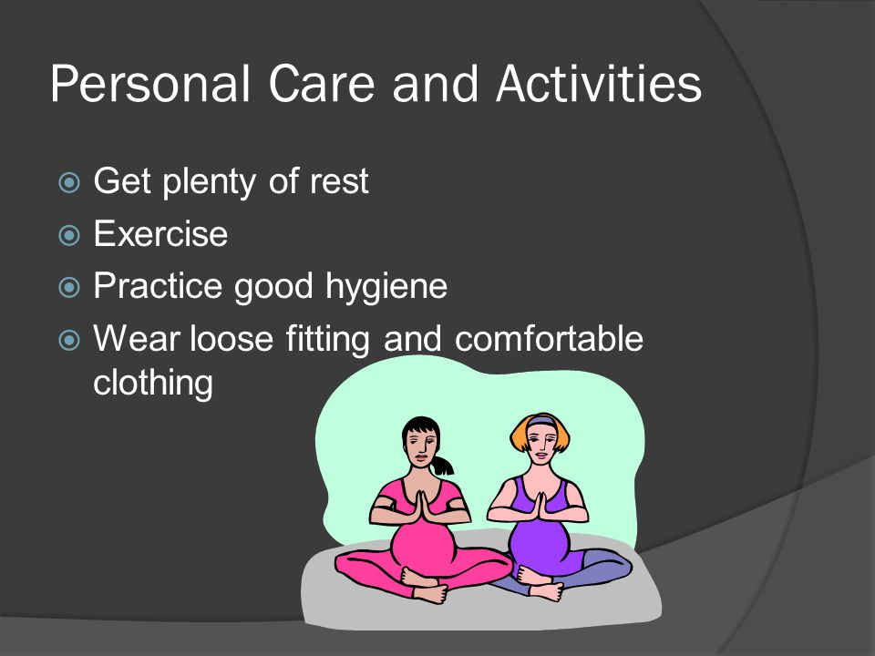 Personal Care and Activities
