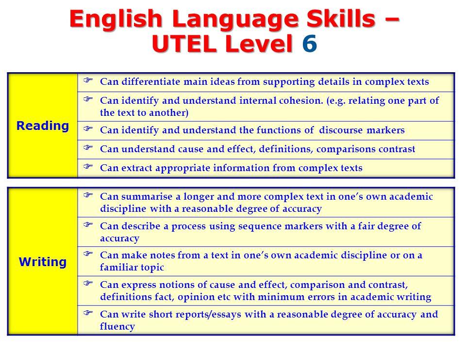 level 6 academic writing