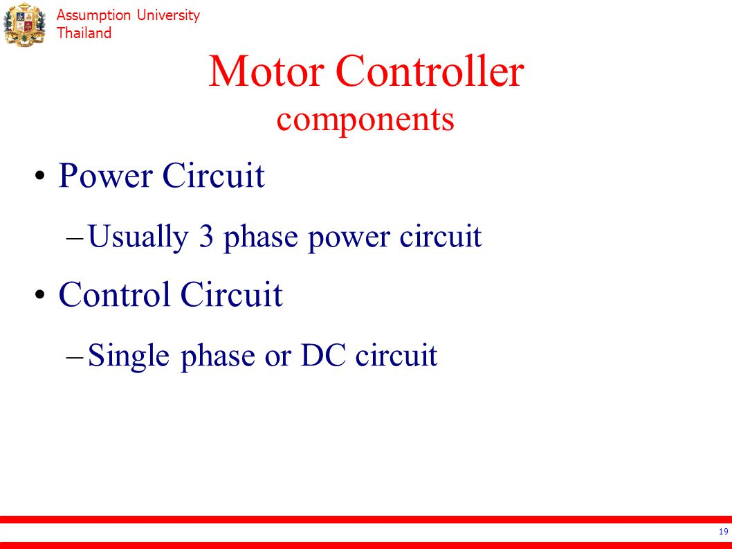 Ee4503 Electrical Systems Design Ppt Video Online Download Examine This Threephase Motor Control Circuit Where Fuses Protect 19 Controller Components Power Usually 3 Phase