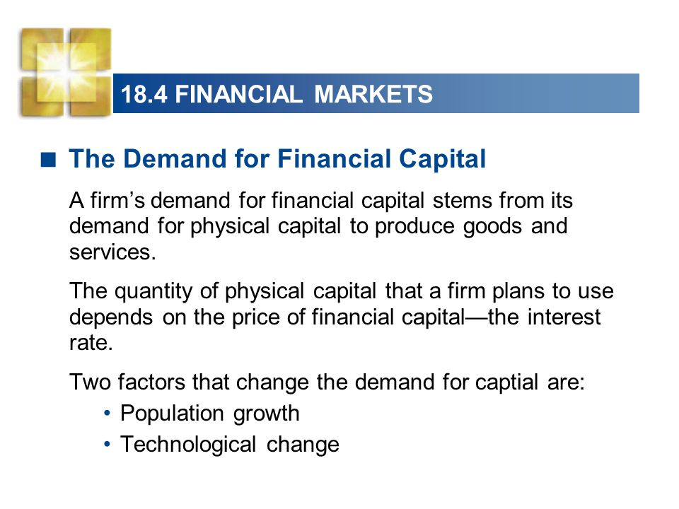 The Demand for Financial Capital