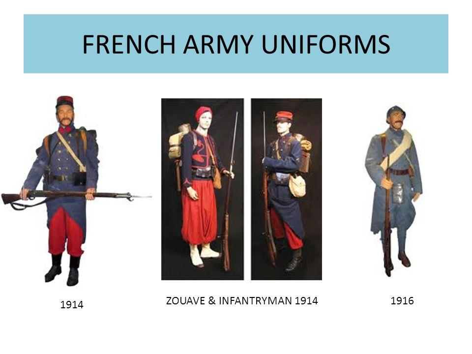 Ww1 French Uniforms