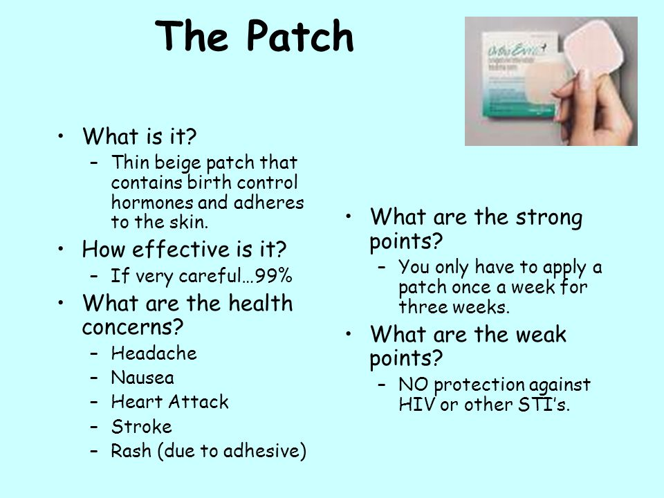 The Patch What is it What are the strong points How effective is it