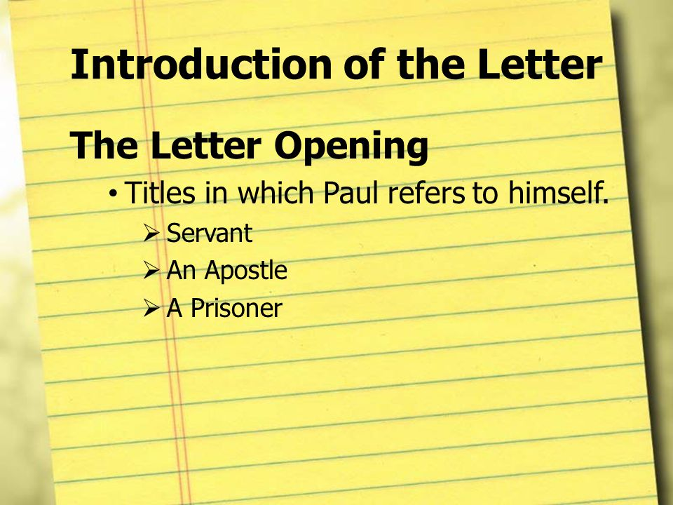 dating pauls letters Paul's letters are all grouped together first in most bibles and put in order of size the numbers in front of some of these epistles simply indicate 1st letter written and then 2nd letter written in some cases, it appears that more letters were written to  new testament summary chart html.