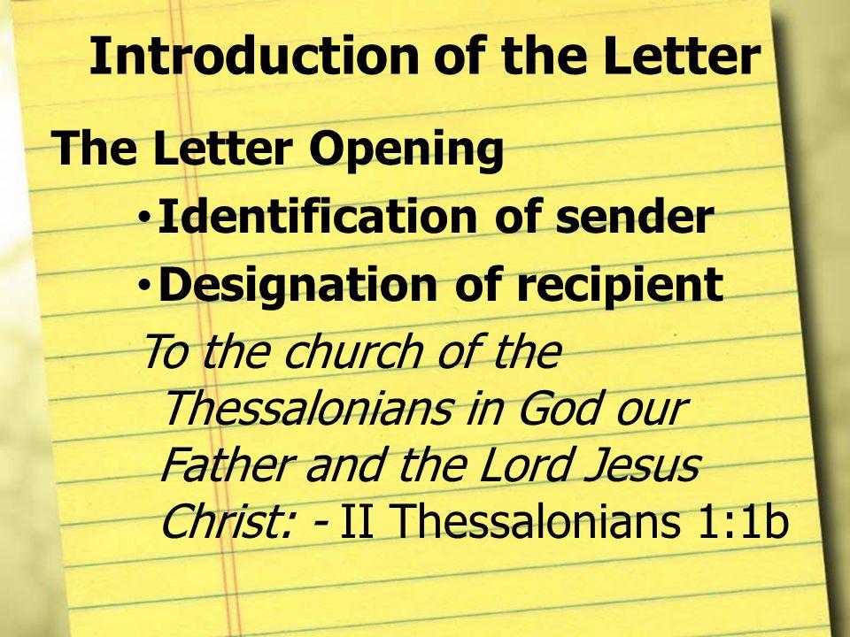 Pauline letter structure ppt video online download introduction of the letter altavistaventures Images