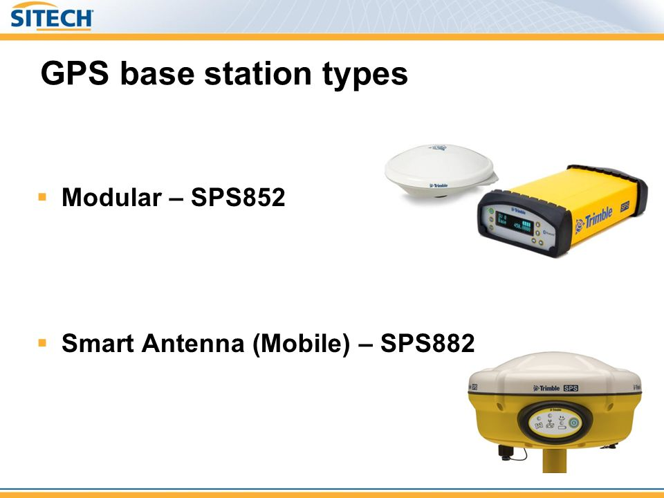 Setting Up a New Site for GPS Operations - ppt video online
