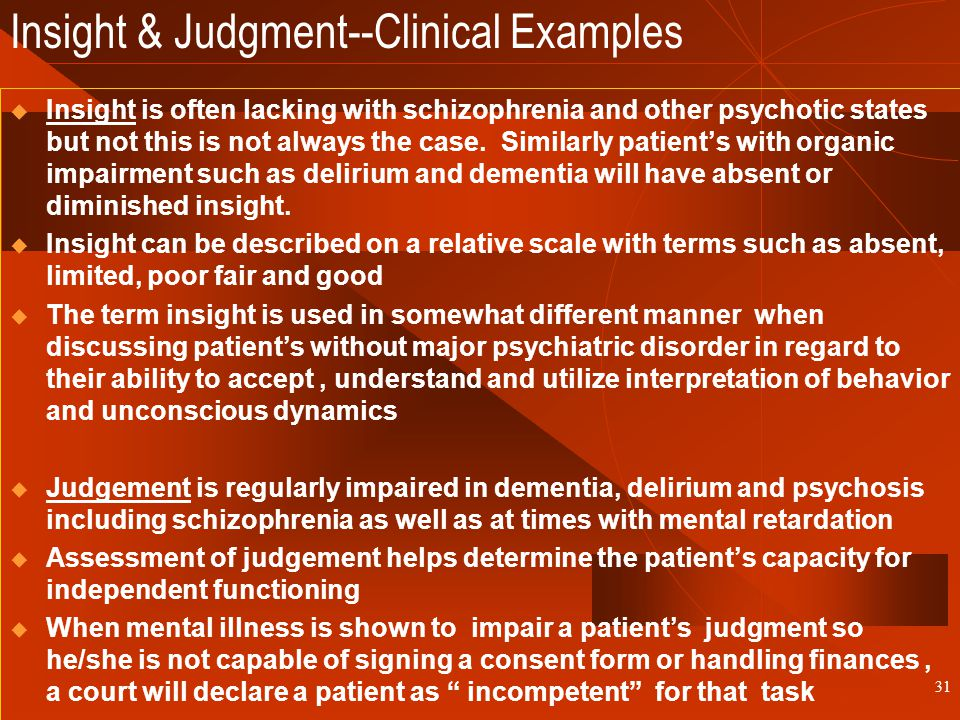 The Mental Status Examination Ppt Download