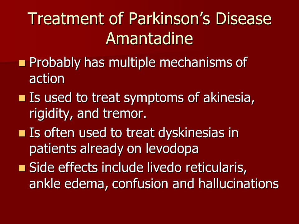 Initial Diagnosis and Management of Parkinson's Disease