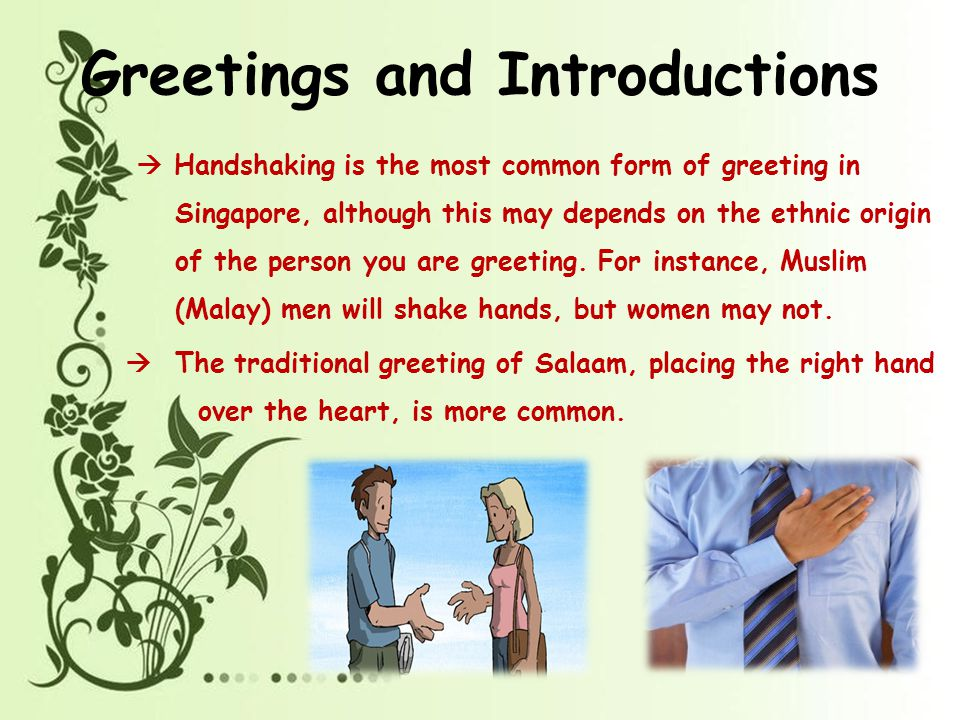 Body language ppt video online download greetings and introductions m4hsunfo