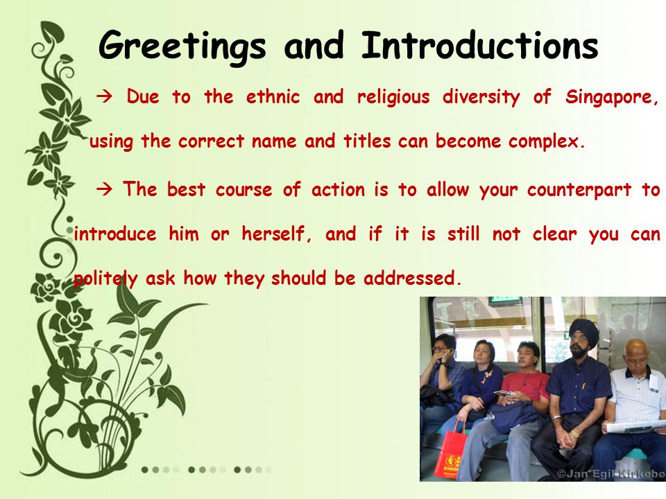 Body language ppt video online download 25 greetings and introductions m4hsunfo
