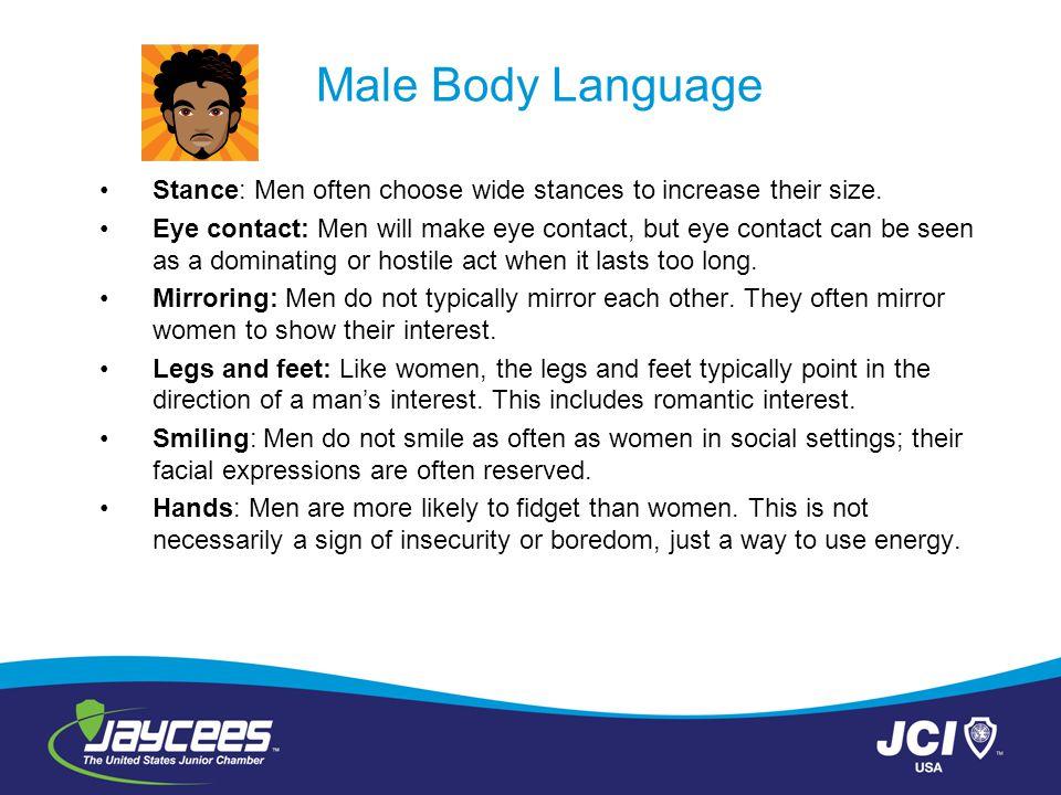 Romantic body language men | Body Language: Signs of Attraction