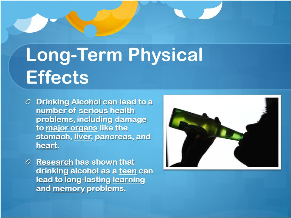 Long-Term Physical Effects