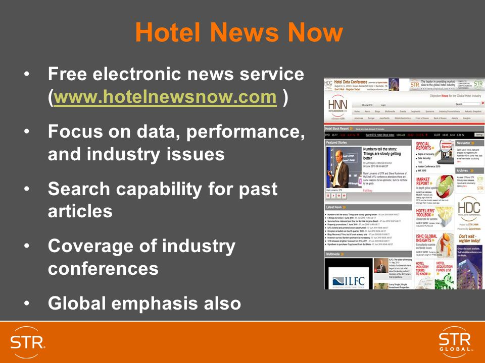 The Global Hotel Industry - an STR Perspective - ppt video