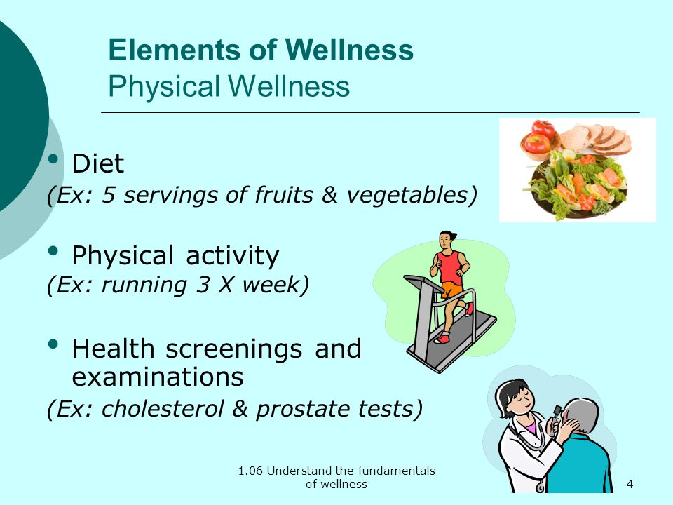 Elements of Wellness Physical Wellness