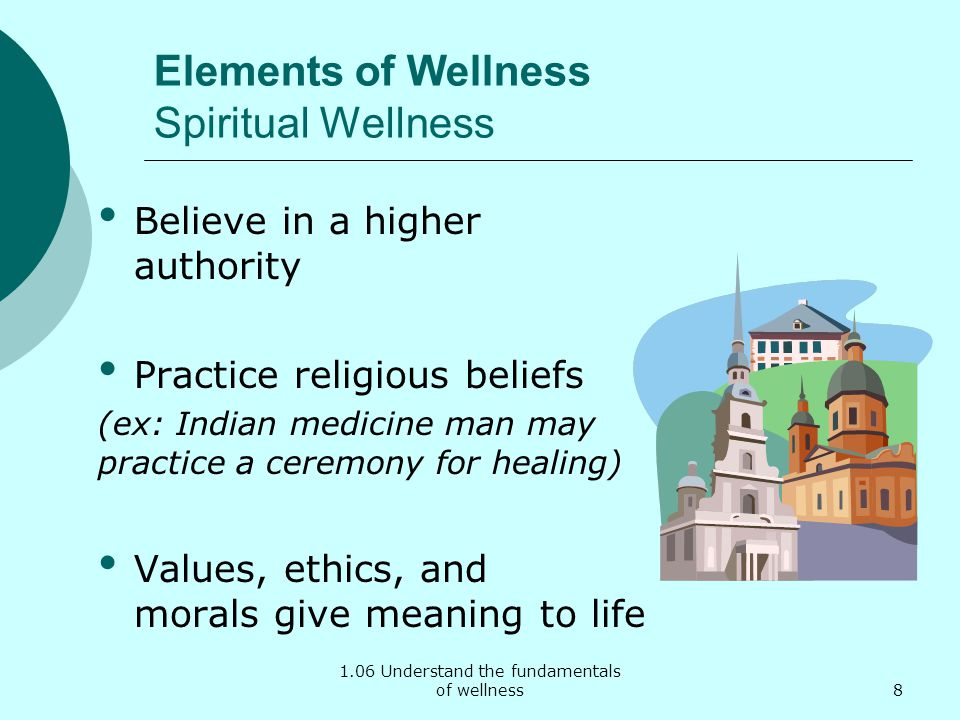 Elements of Wellness Spiritual Wellness