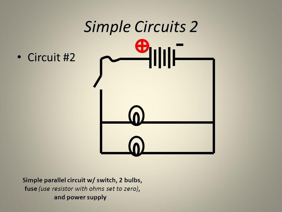 Simple Circuits Simulator - ppt download