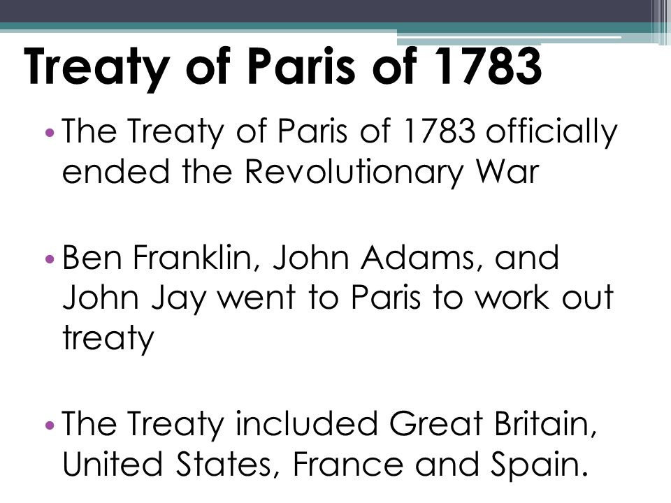 After The Revolution The Articles Of Confederation The