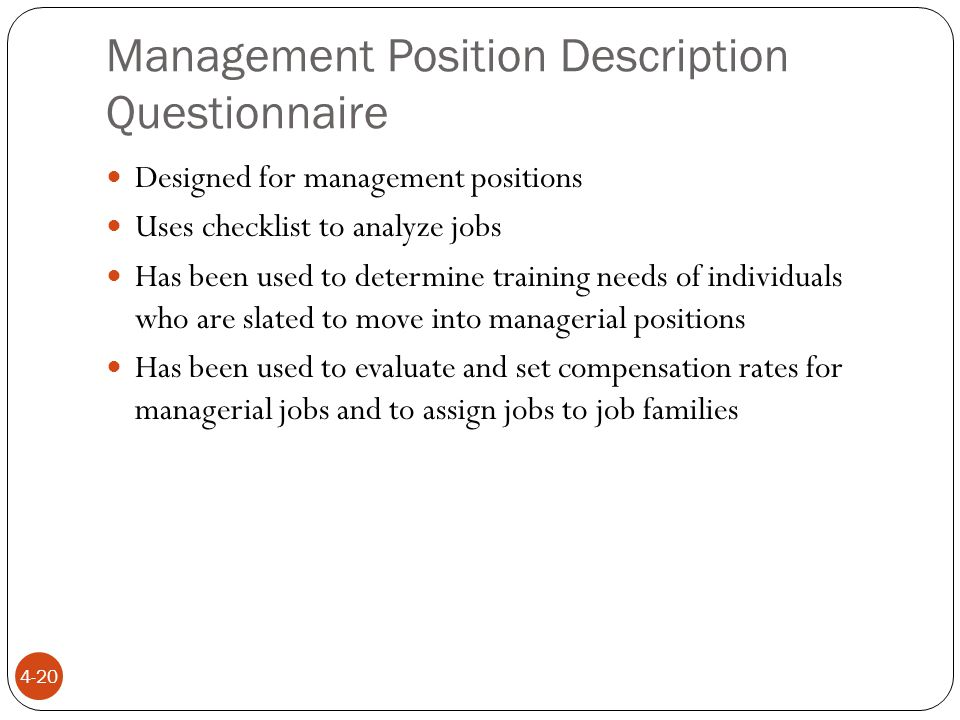 definitions job analysis systematic process of determining skills