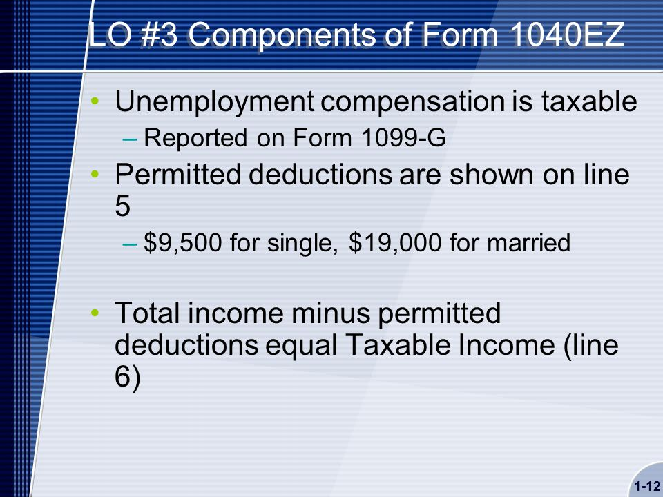 Chapter 01 Introduction To Taxation The Income Tax Formula And