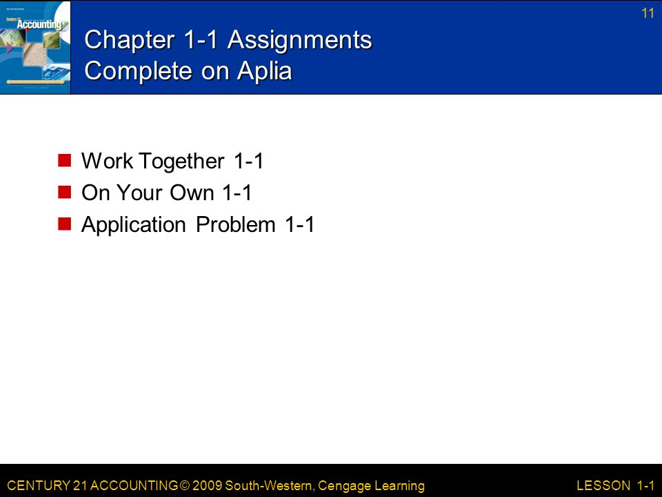 Chapter 1-1 Assignments Complete on Aplia