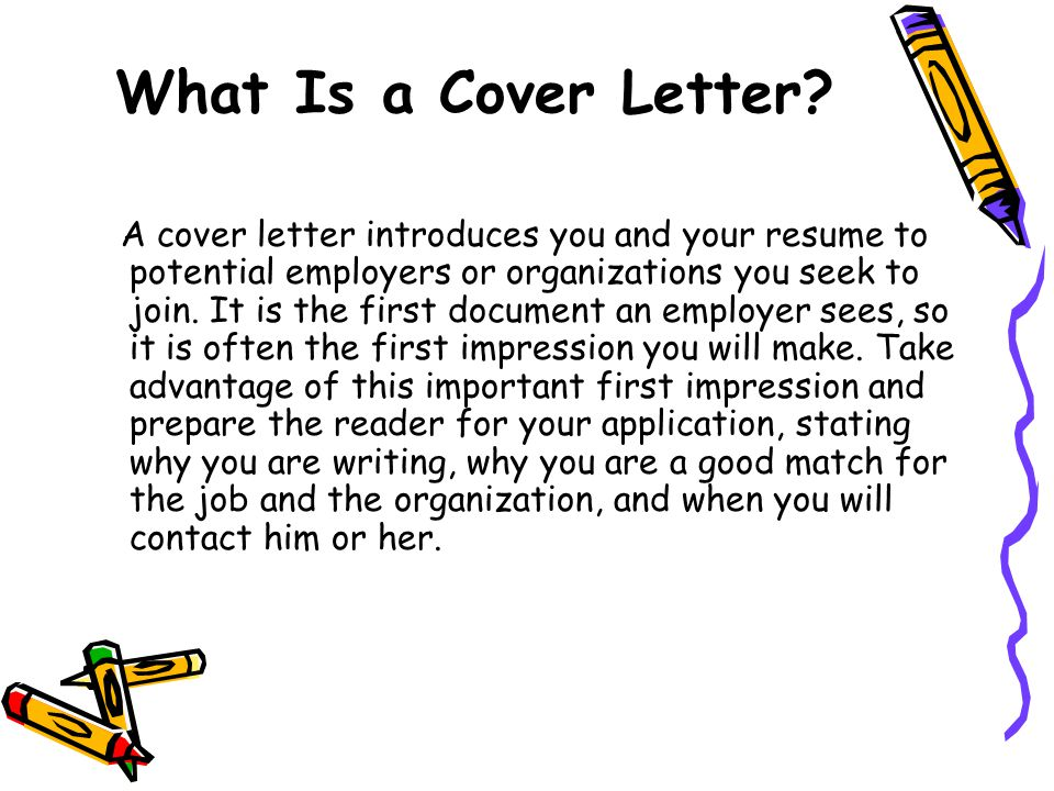 A Basic Guide to Writing Great Cover Letters - ppt video online download