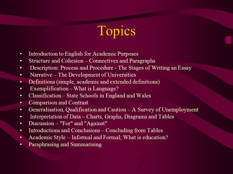 100 english topics on different subjects for english conversation.