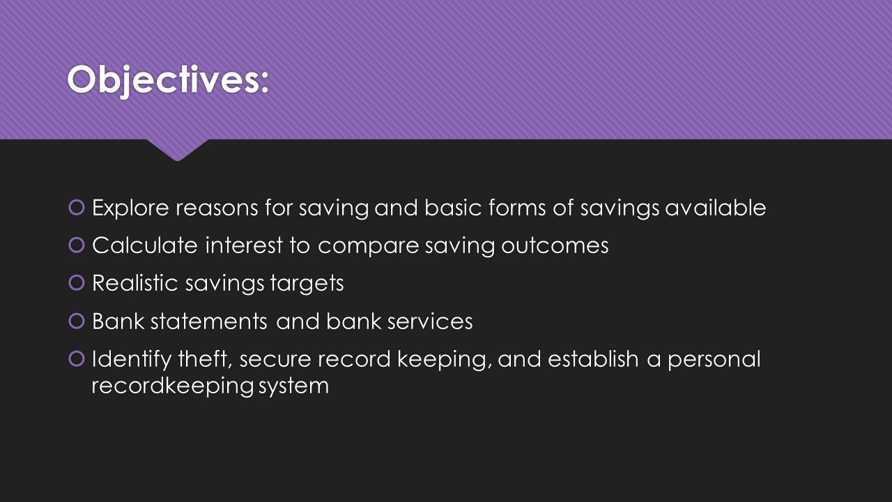 Savings and Banking Life Transitions ppt video online download