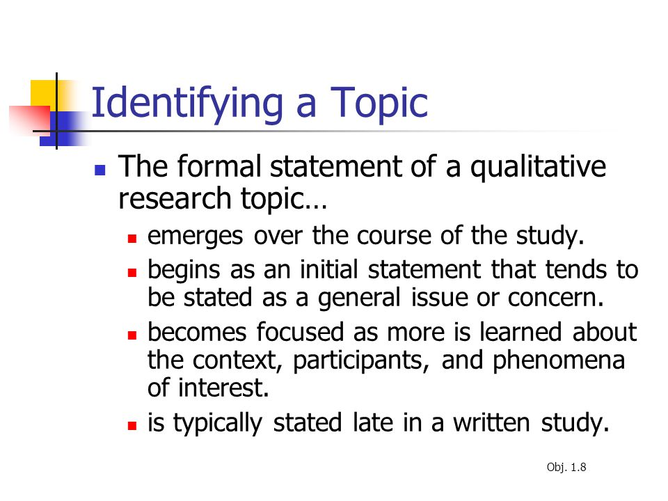 interesting qualitative research topics