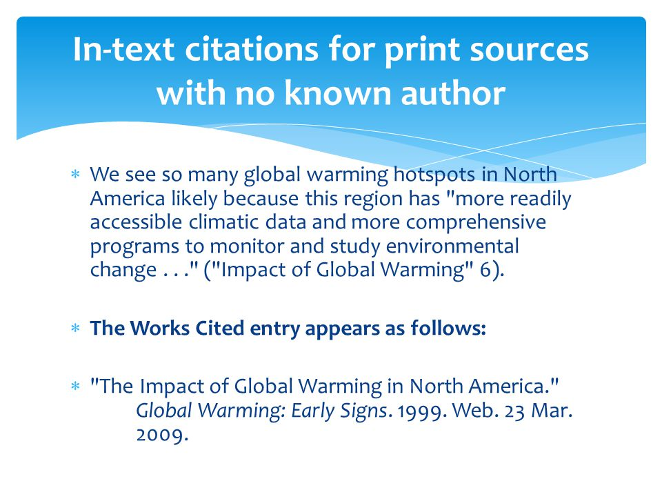 How do you cite a sources in a paper with no author — photo 1