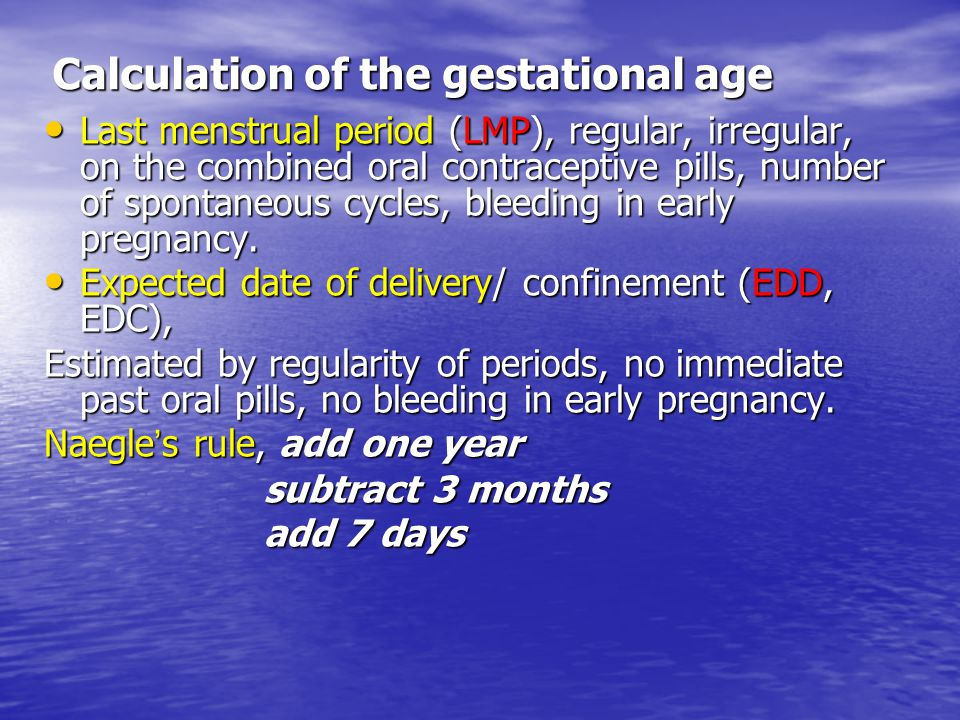 Diagnosis of pregnancy - ppt video online download
