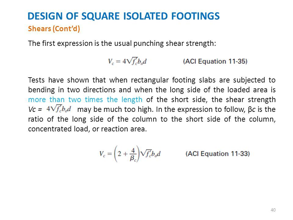 FOOTINGS INTRODUCTION  - ppt download