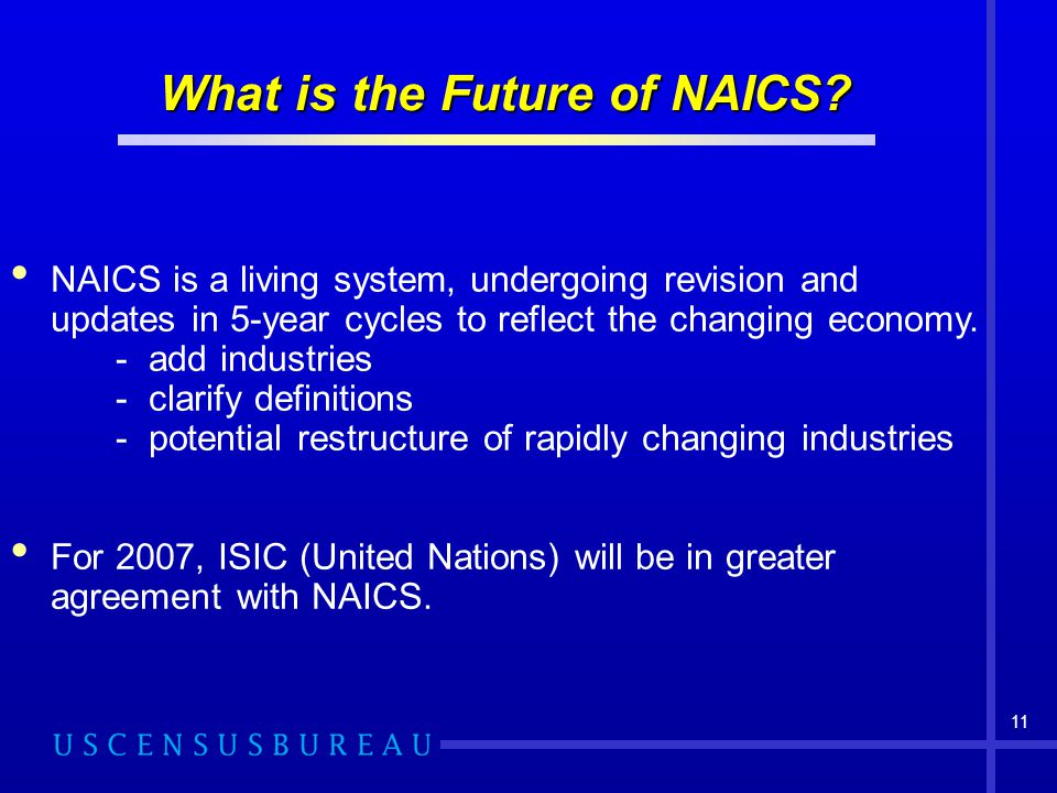 What is the Future of NAICS