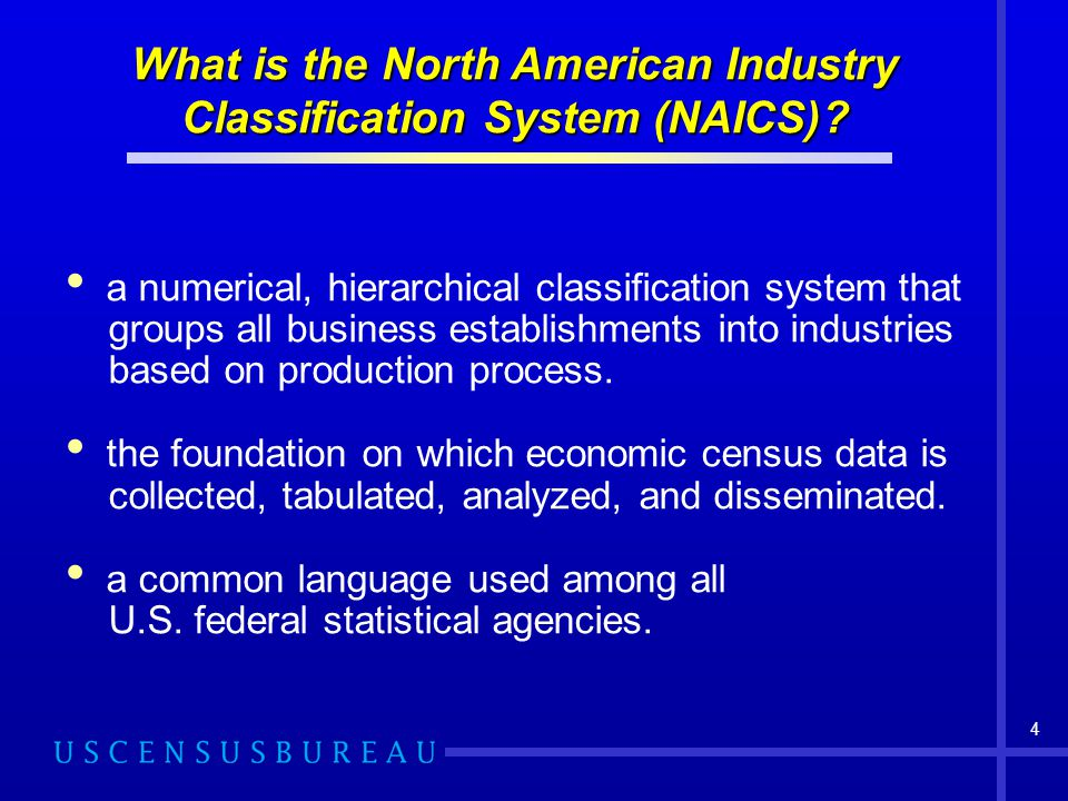 What is the North American Industry Classification System (NAICS)