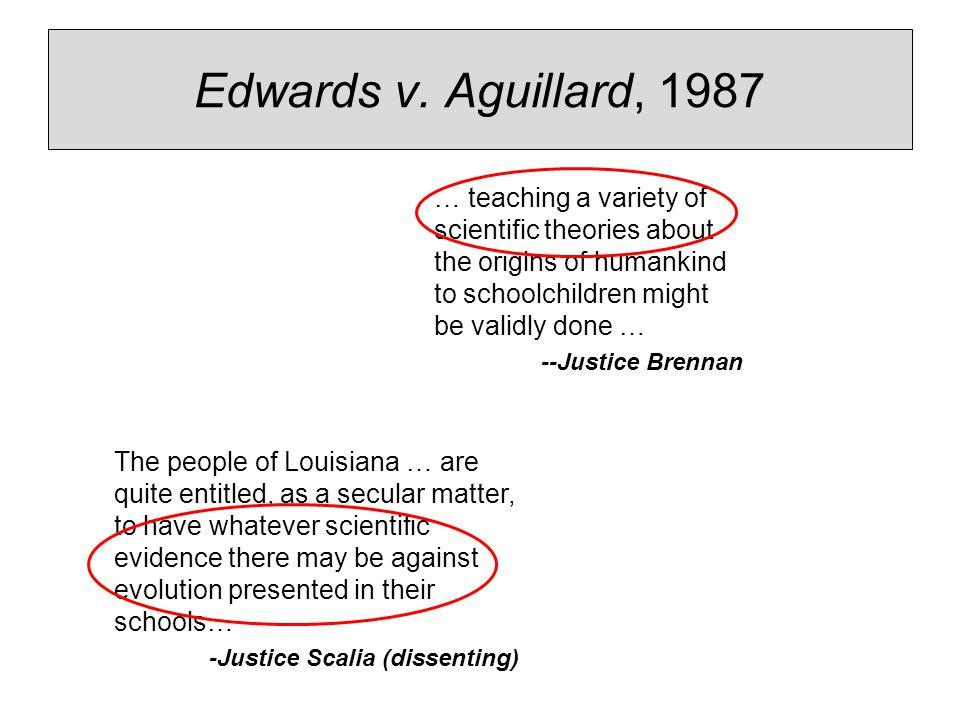 edwards v aguillard 1987