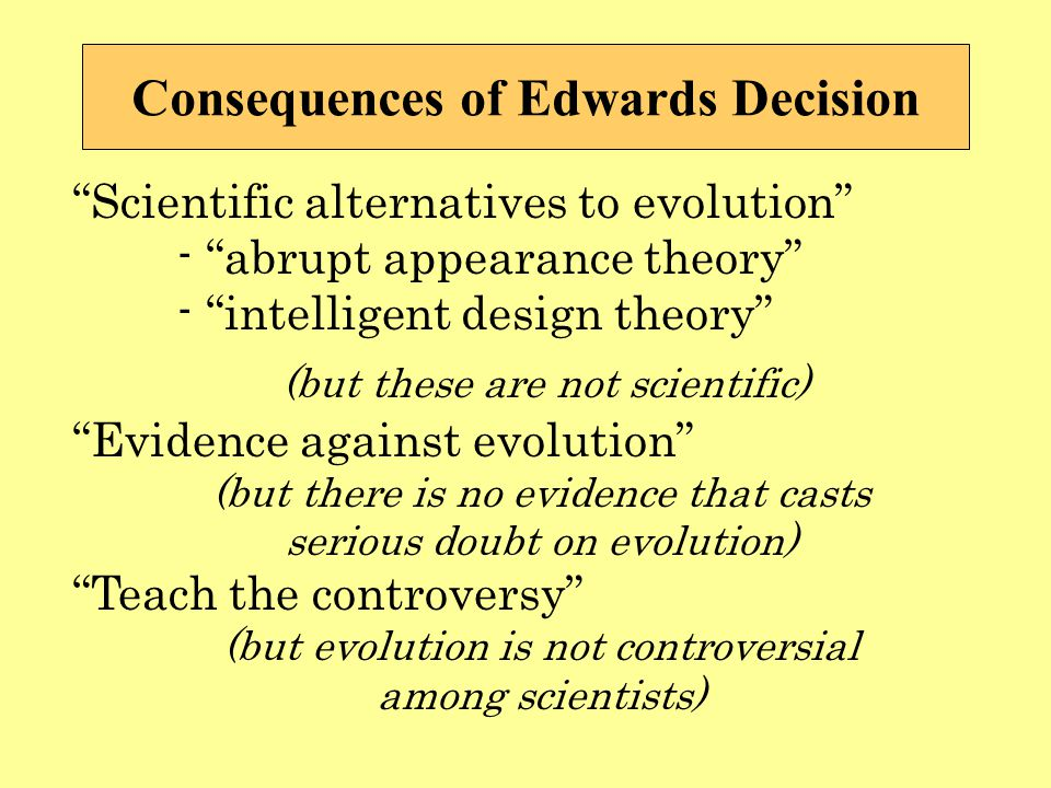scientific doubts about evolution essay Essay:scientific consensus from rationalwiki jump to: navigation, search however, the national academy of sciences (nas) in their publication science and creationism answers the question of whether many scientists doubt evolution.