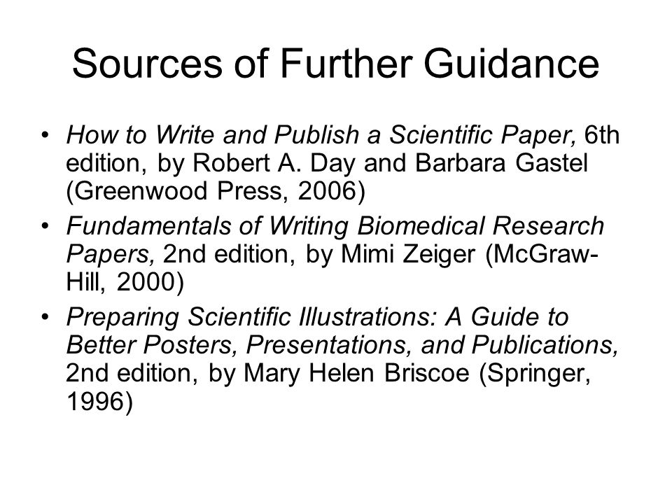 how to write a scientific research paper Note: many of the pages are now available in printer friendly pdf format look for the link on the top each page below the title.