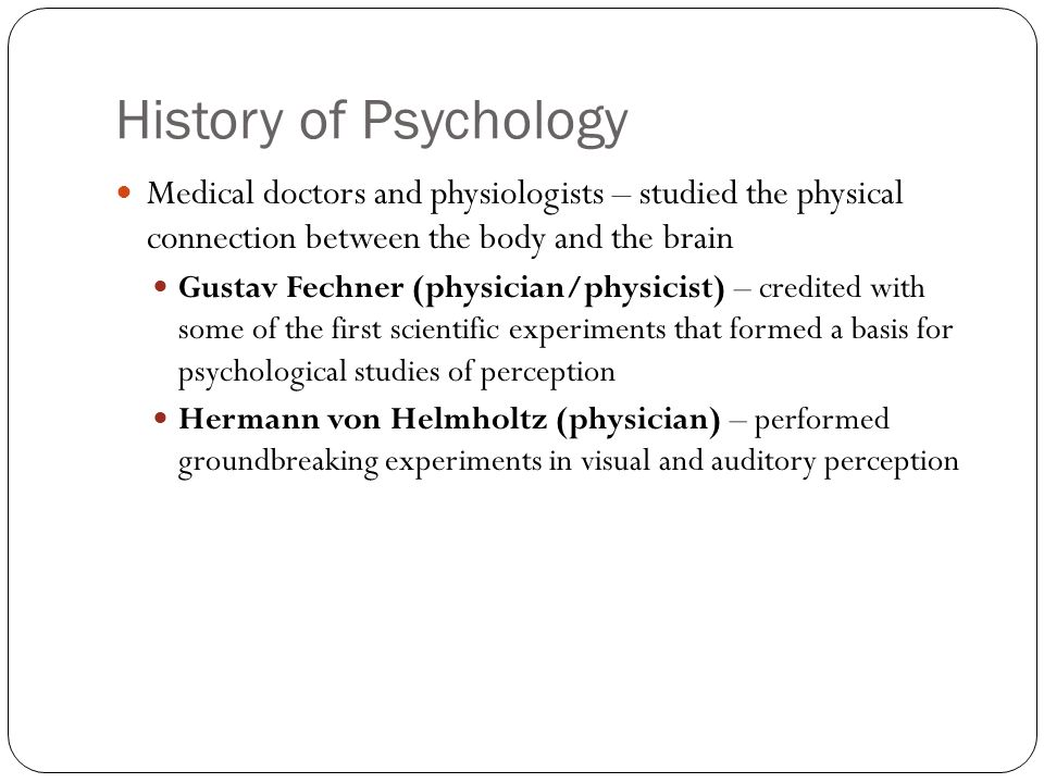 a history of medical psychology pdf